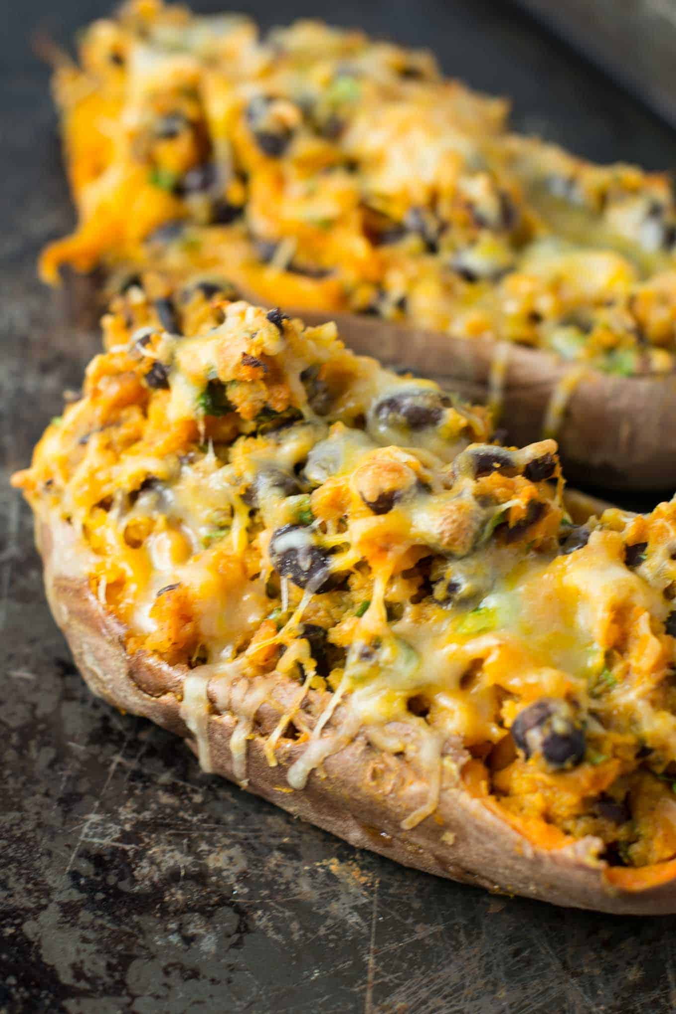 Mexican stuffed potatoes vegetarian recipes
