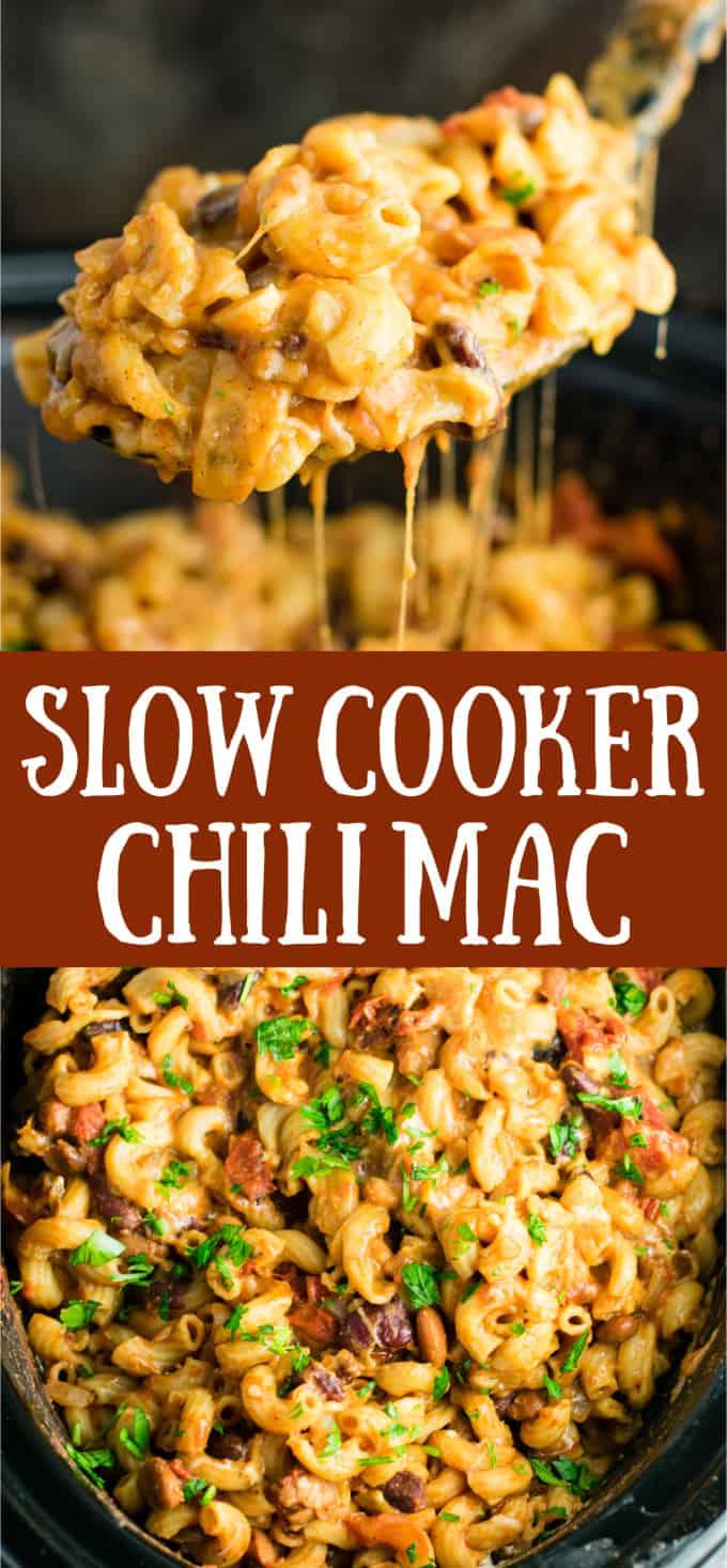 easy crockpot chili mac recipe