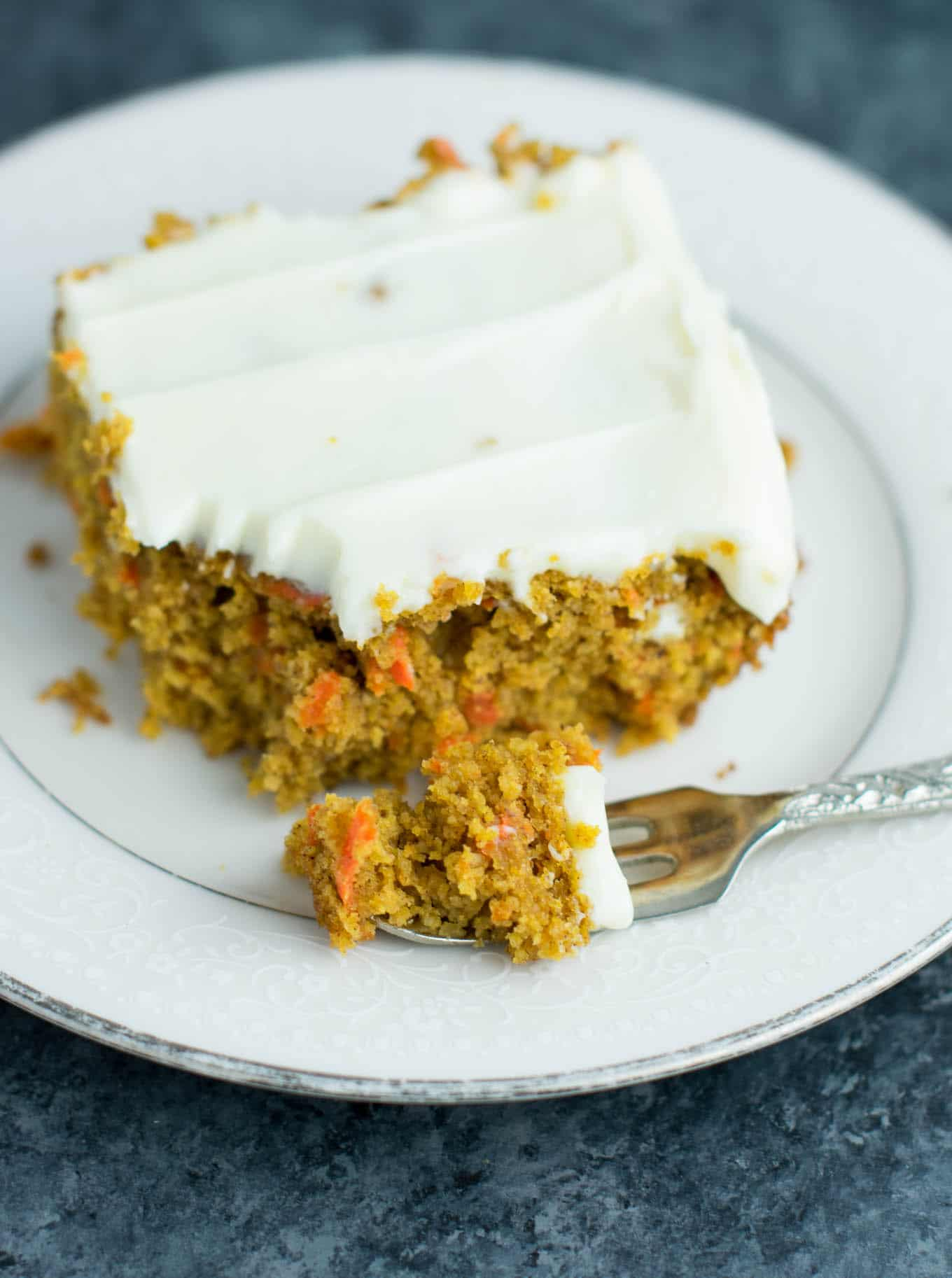 Gluten Free Carrot Cake Recipe With Cream Cheese Frosting