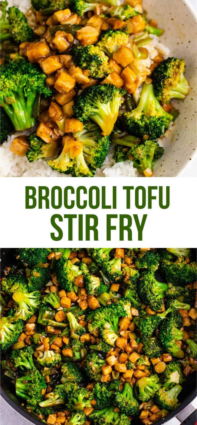 Broccoli Tofu Stir Fry Recipe Build Your Bite