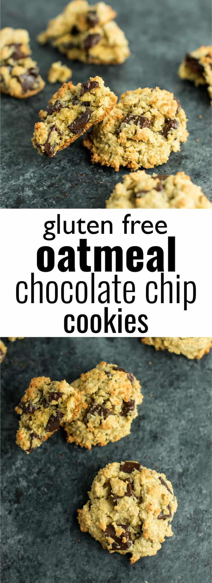 Gluten Free Oatmeal Chocolate Chip Cookies Recipe - with ...
