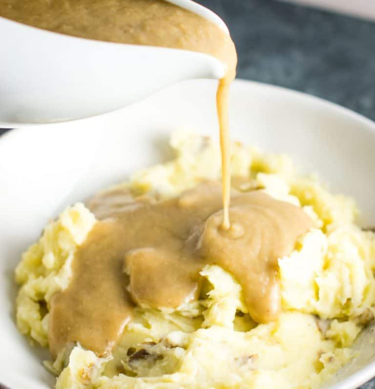 Vegetarian Gravy | Healthy Thanksgiving Recipes | Homemade Recipes
