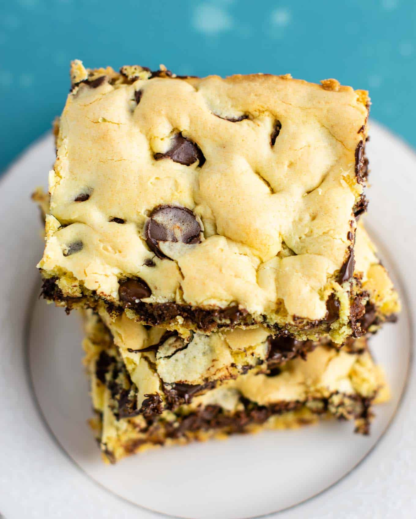 recipes using yellow cake mix: Cake mix cookie bars