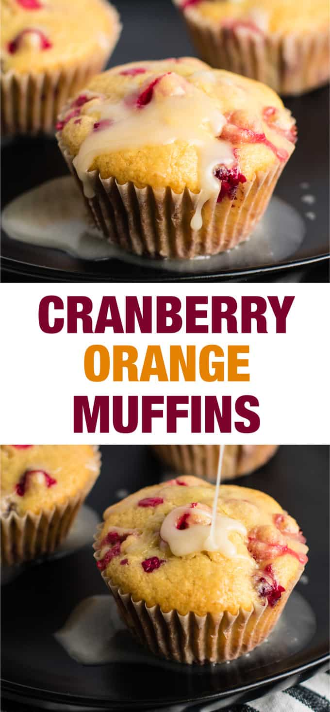healthy cranberry orange muffins with greek yogurt - these are amazing! #cranberry #muffins #orange #christmas #breakfast