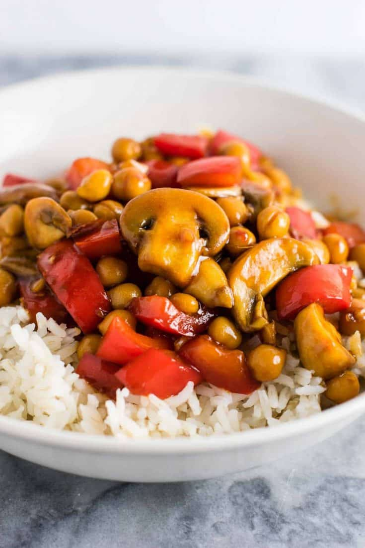 30 Minute Chickpea Stir Fry