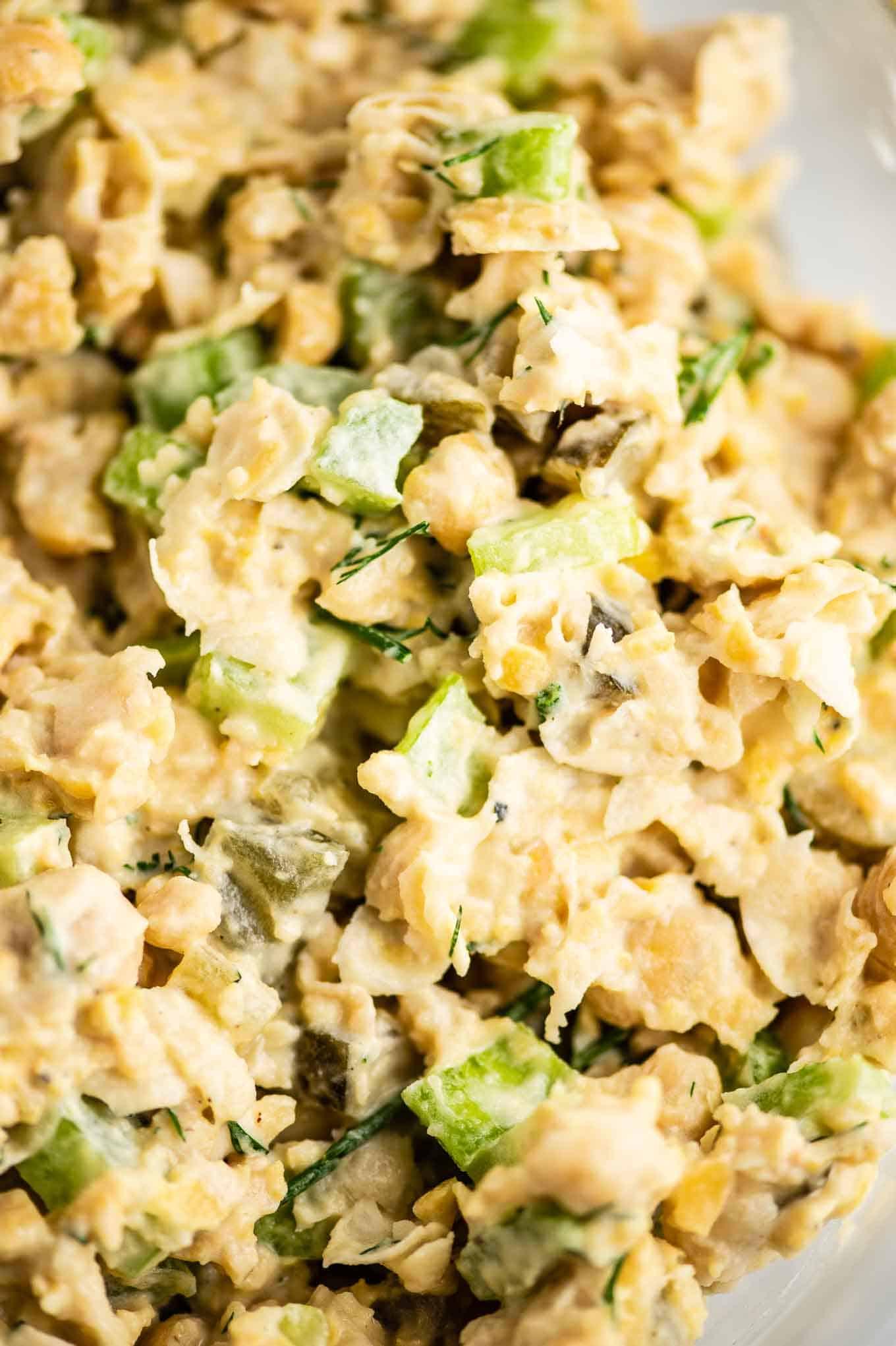chickpea tuna salad vegan