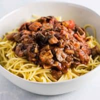 Meatless Spaghetti Sauce Recipe