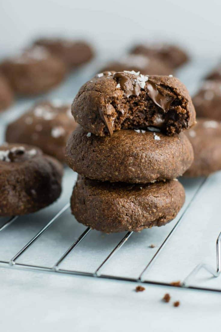 Healthy Double Chocolate Chip Cookies