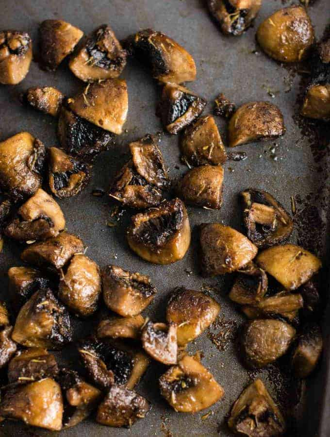 Easy Roasted Mushrooms
