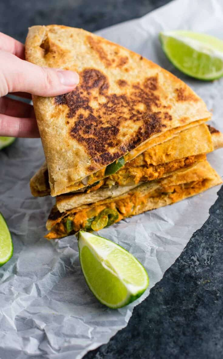 Ultimate Vegan Quesadillas Recipe Build Your Bite
