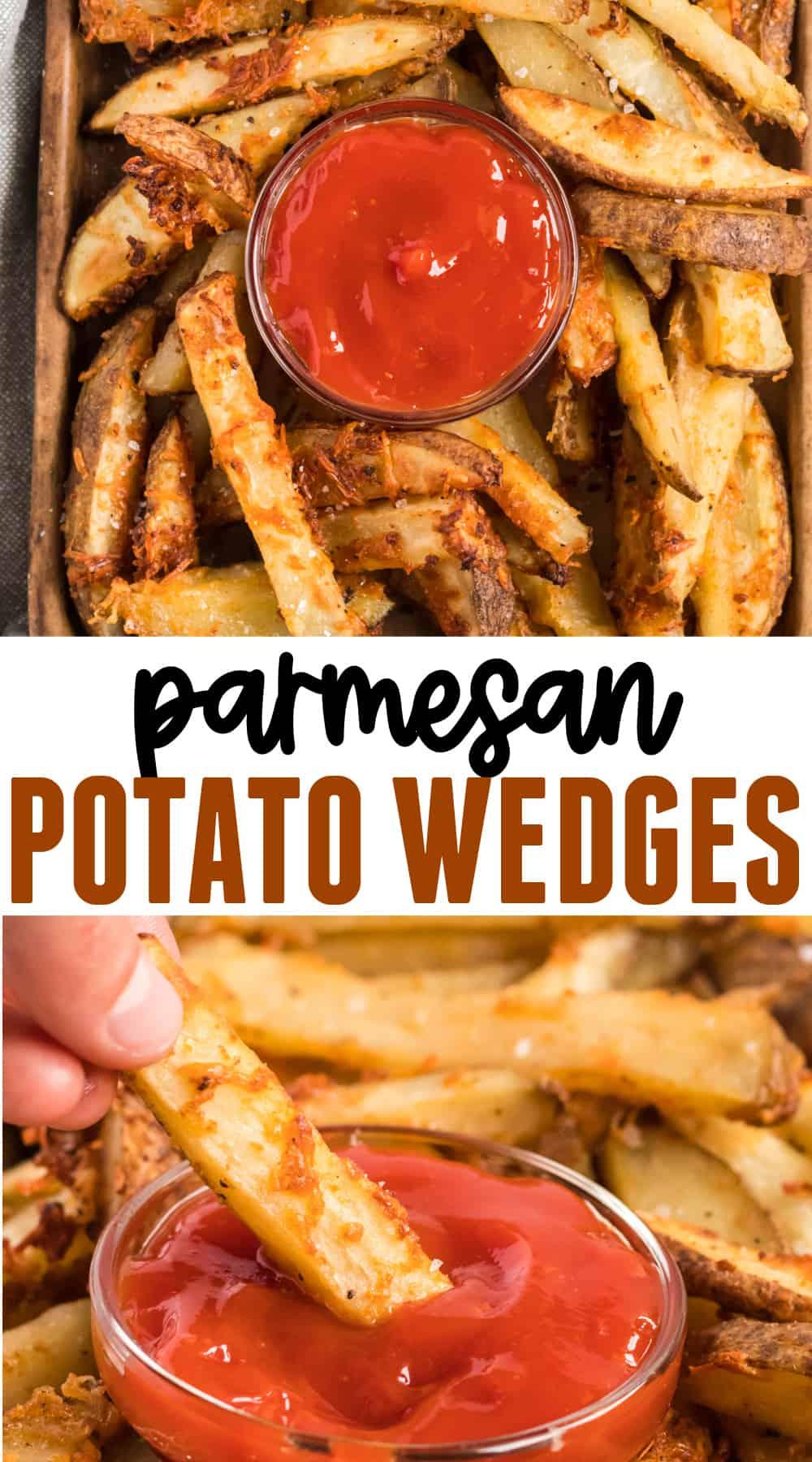 "image with text ""parmesan potato wedges"""