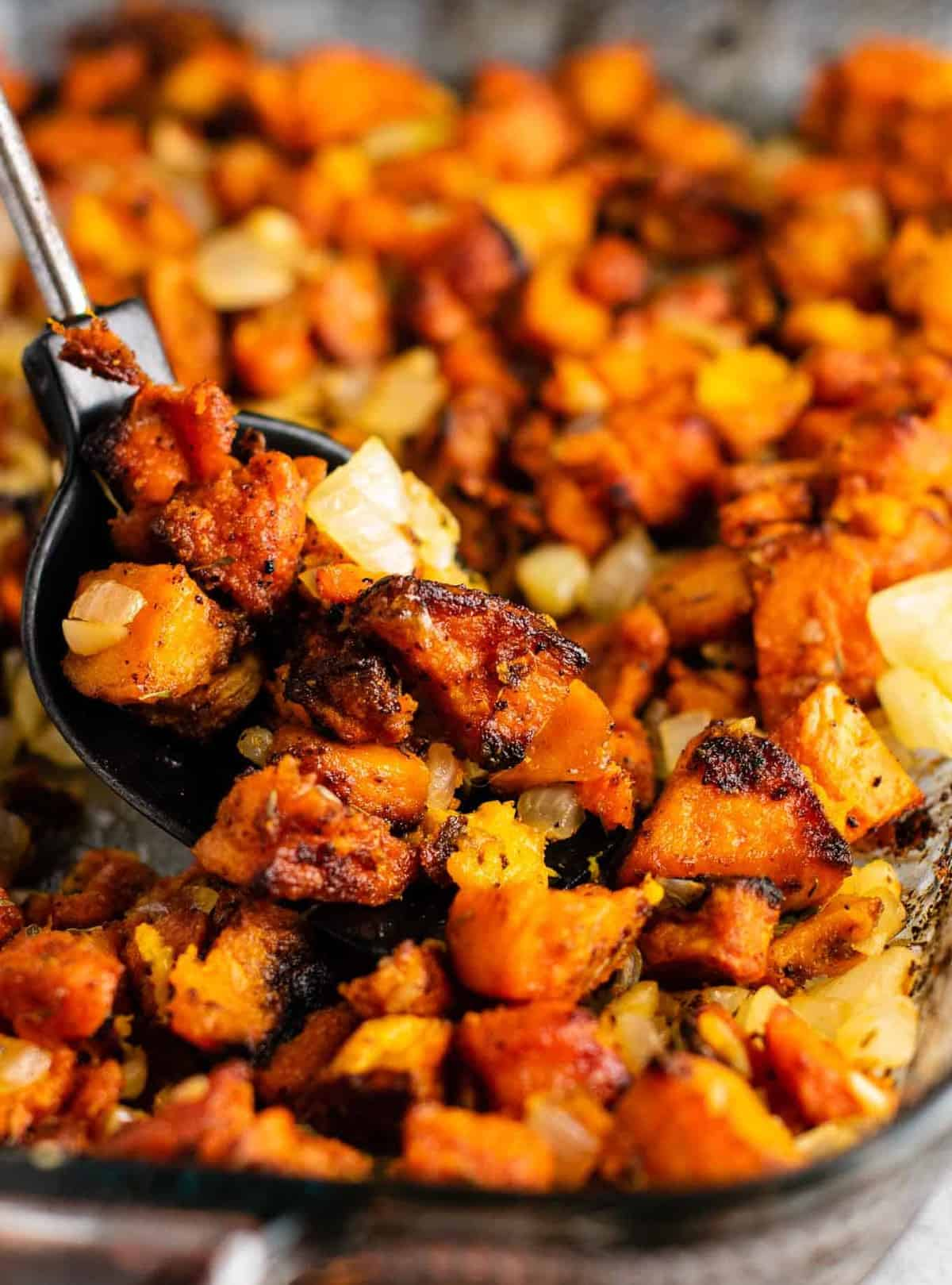 The Best Sweet Potato Hash Recipe - Build Your Bite