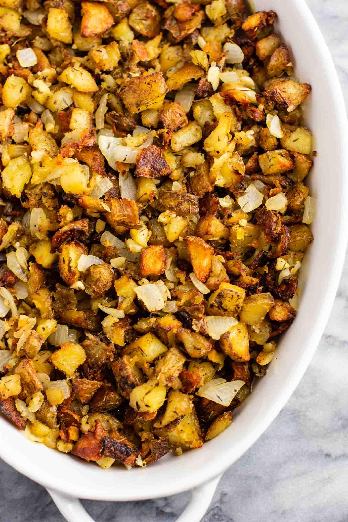 famous crispy potato casserole