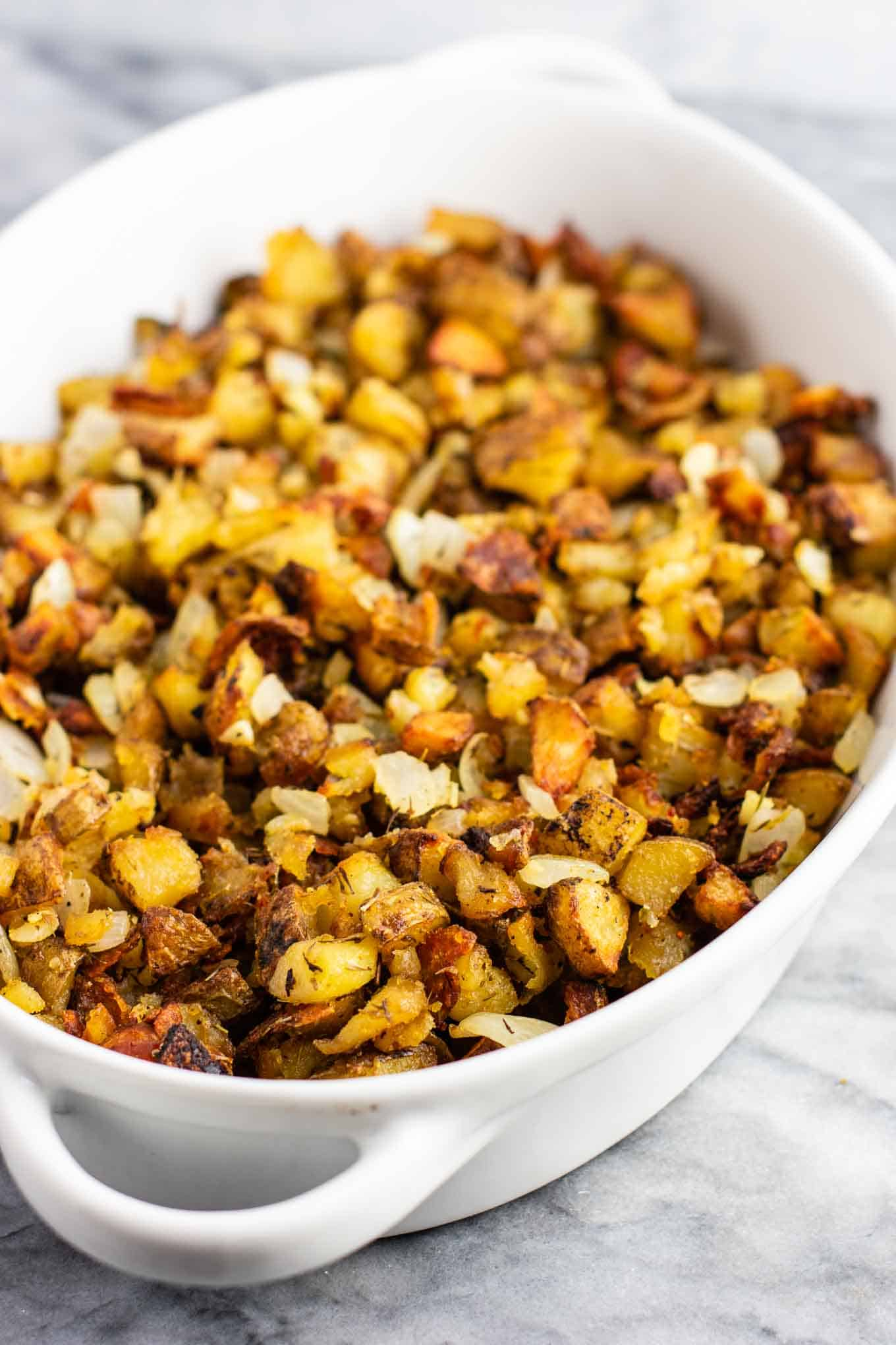 famous super crispy potato side dish