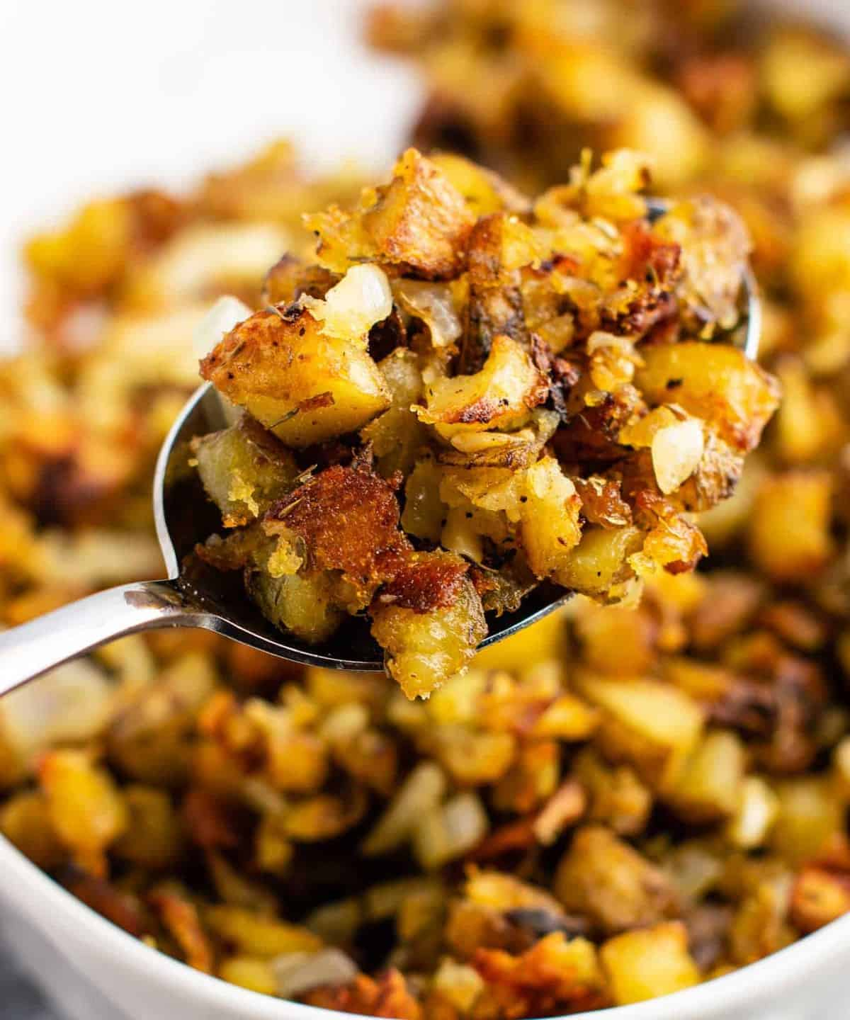 potato side dish with russet potatoes