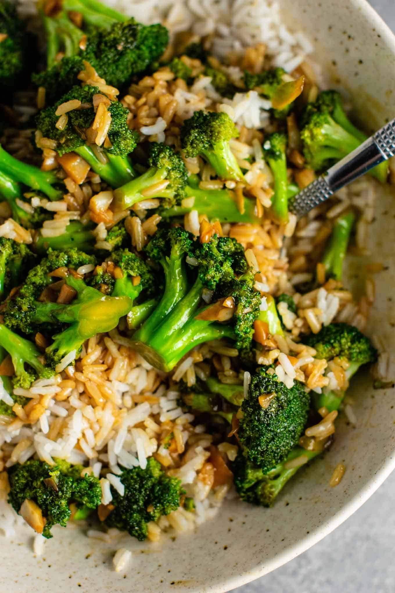 Stir fry broccoli recipe