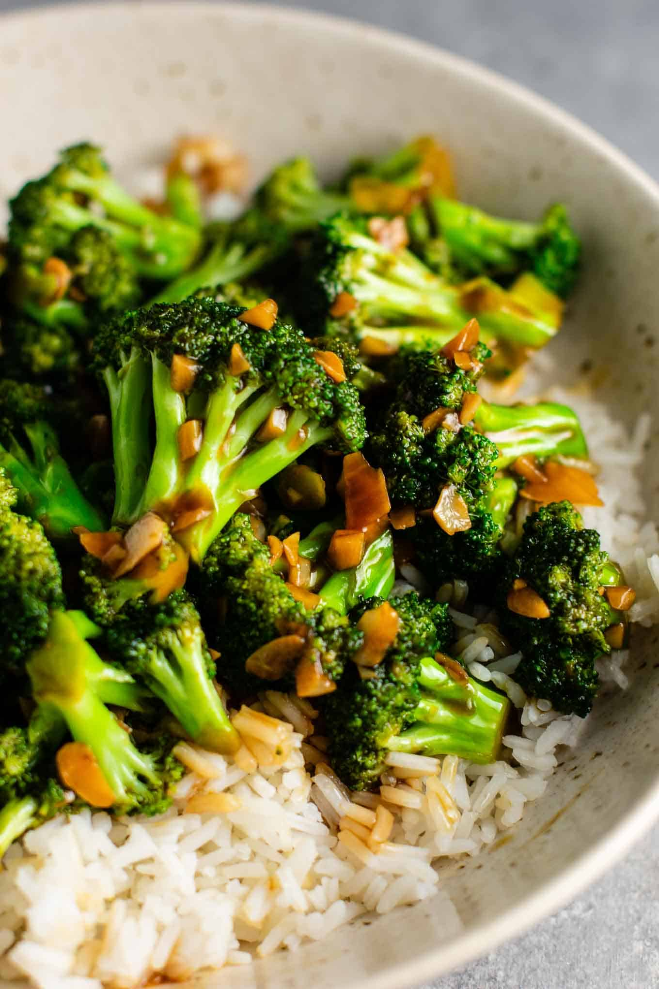 Broccoli stir fry recipe with garlic stir fry sauce