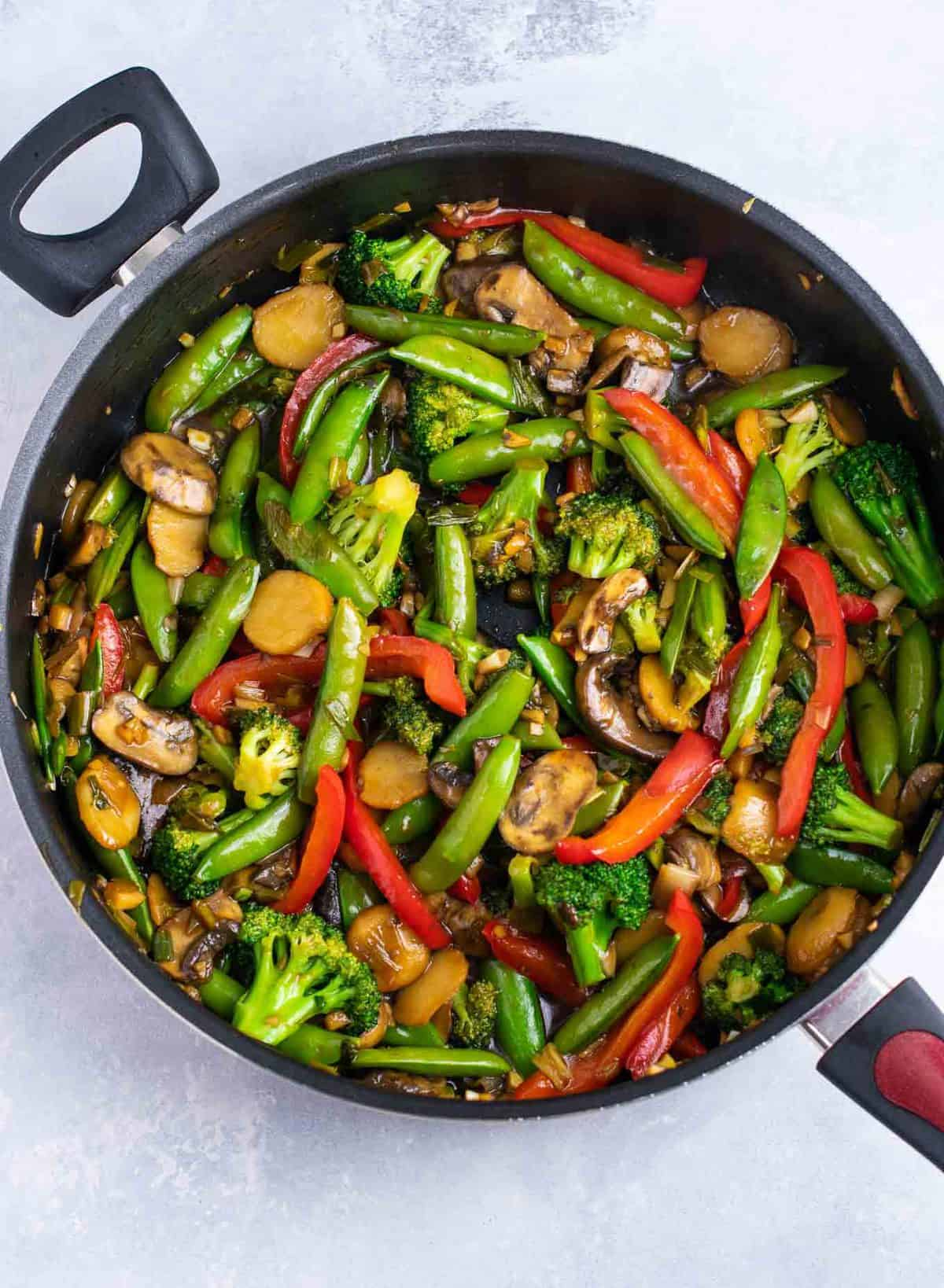 what are the best vegetables to put in stir fry