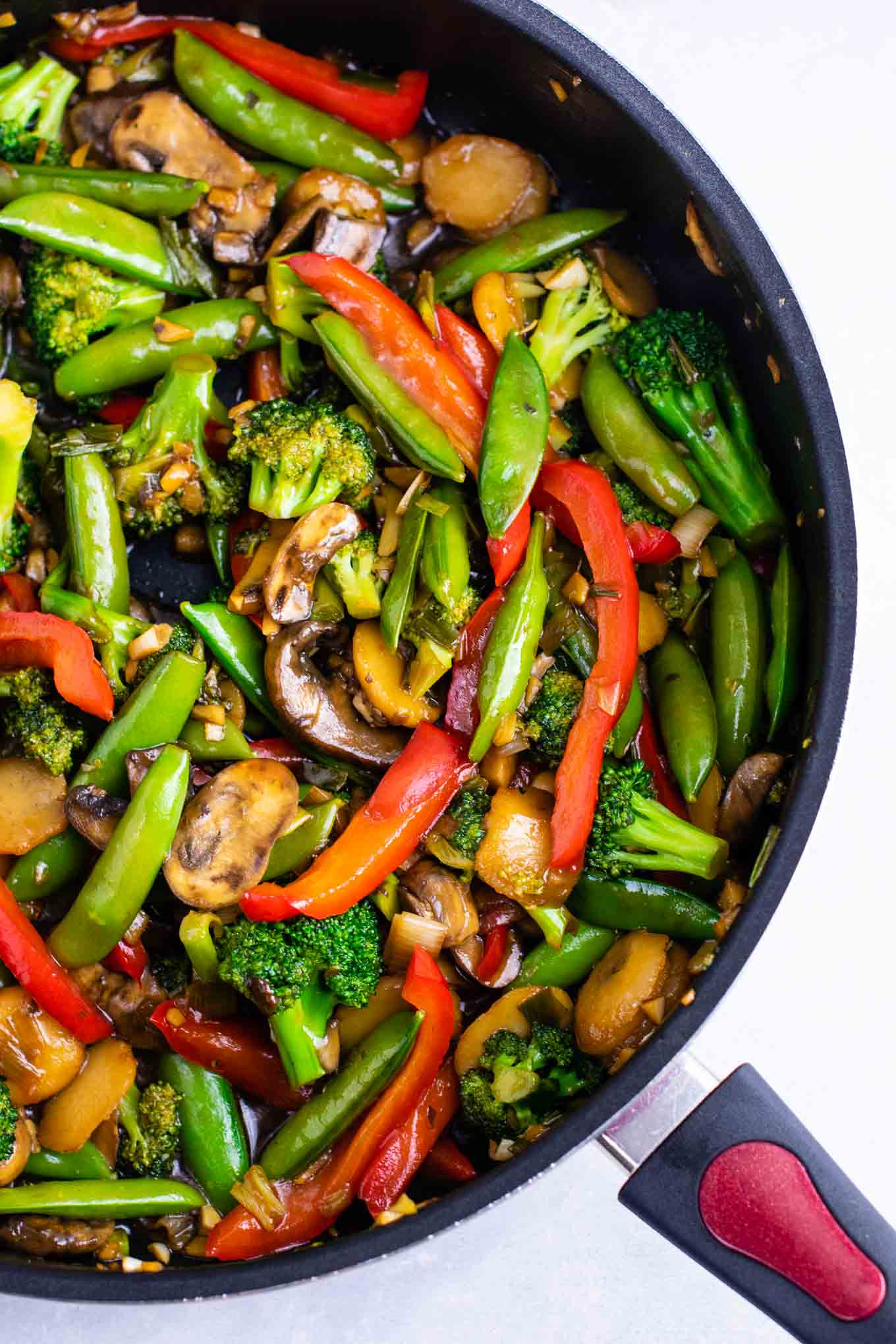 Stir fry vegetables recipe – with homemade stir fry sauce