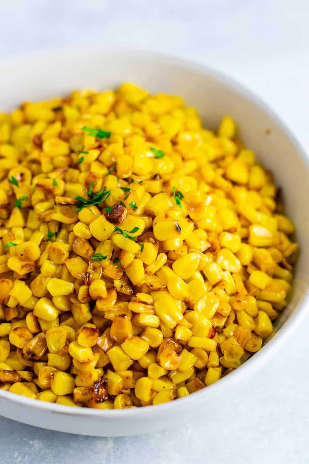 Corn recipes for Thanksgiving - Best skillet corn recipe –the BEST side dish and even corn haters will love it. you will never make corn a different way after you try this! #skilletcorn #sidedish #dinner #dinnerrecipe #glutenfree #corn #easysidedish