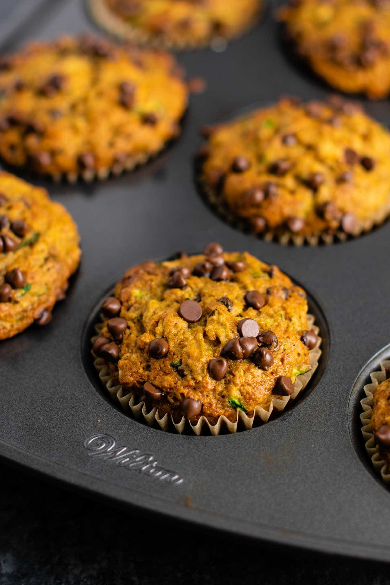 easy muffin recipe with zucchini