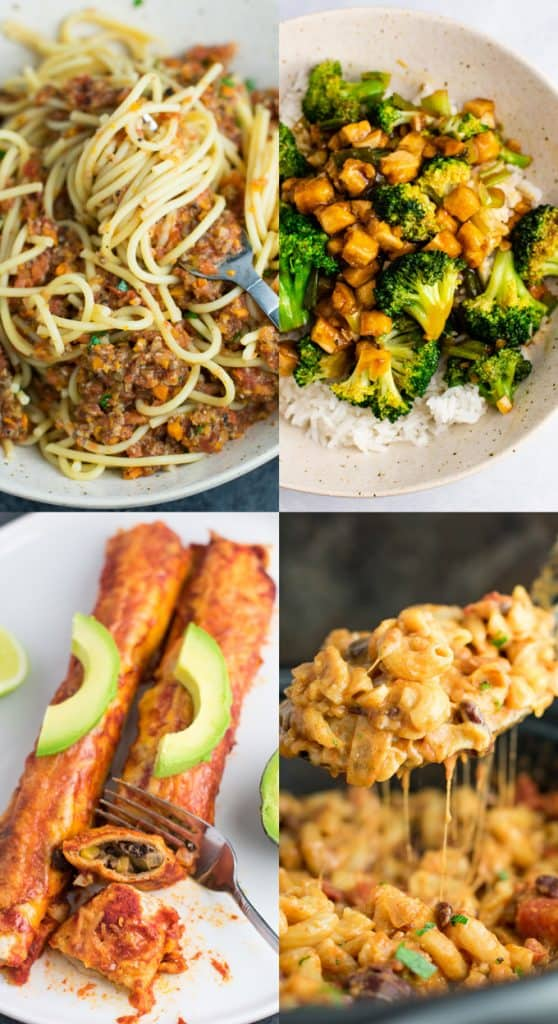 25 of the best vegetarian recipes - these look amazing! #vegetarian #vegetariandinner #vegetarianrecipe #dinner #meatless #healthyrecipe