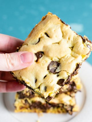 cookie bars from cake mix