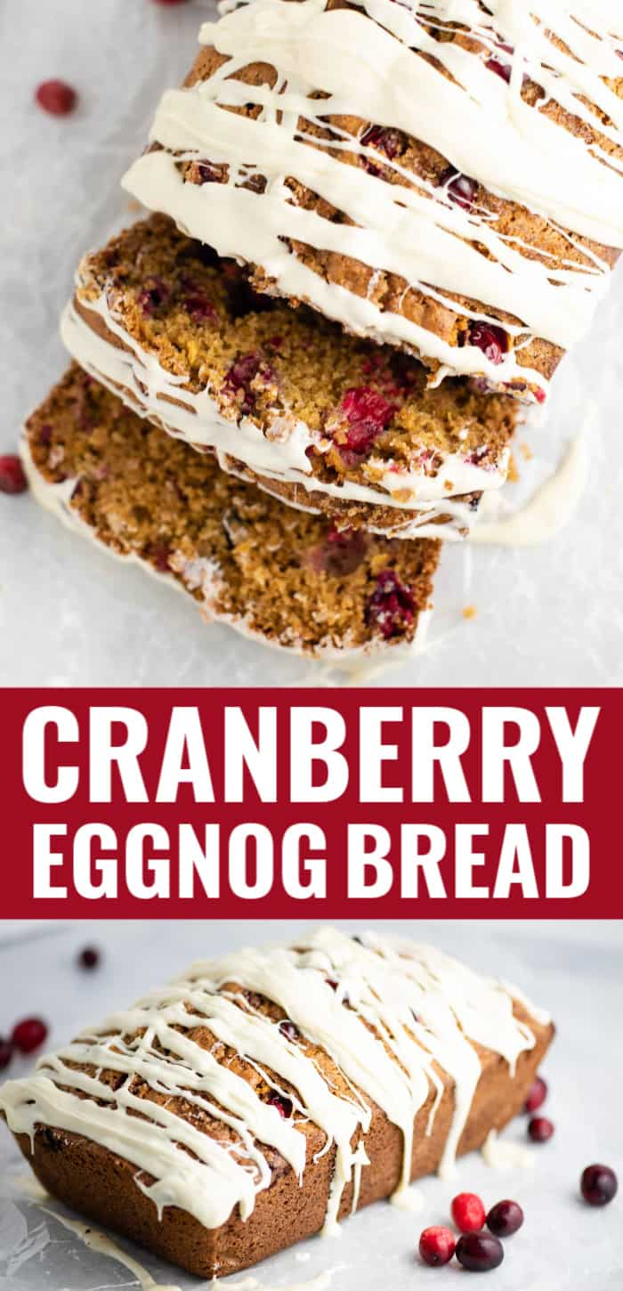 cranberry eggnog bread