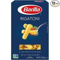 Barilla Pasta, Rigatoni