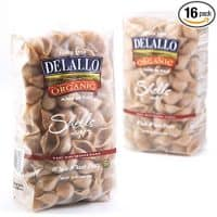 DeLallo Organic Whole Wheat Shells