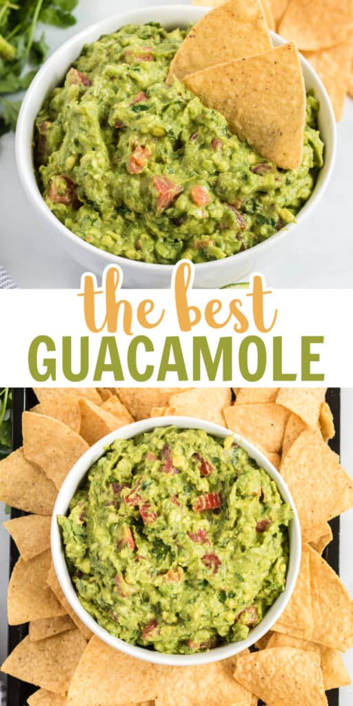 """image with text """"the best guacamole"""""""