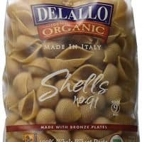 Delallo Organic Whole Wheat Pasta Shells