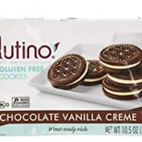 Glutino Chocolate Vanilla Cream Cookies, Gluten Free