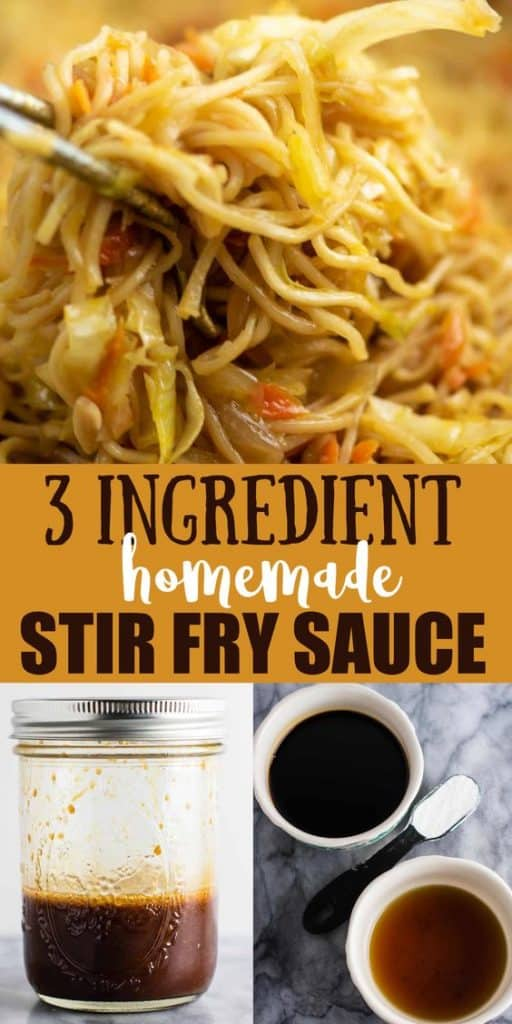 """image with text """"3 ingredient homemade stir fry sauce"""""""