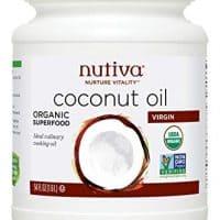 Nutiva Organic, Cold-Pressed, Unrefined, Virgin Coconut Oil