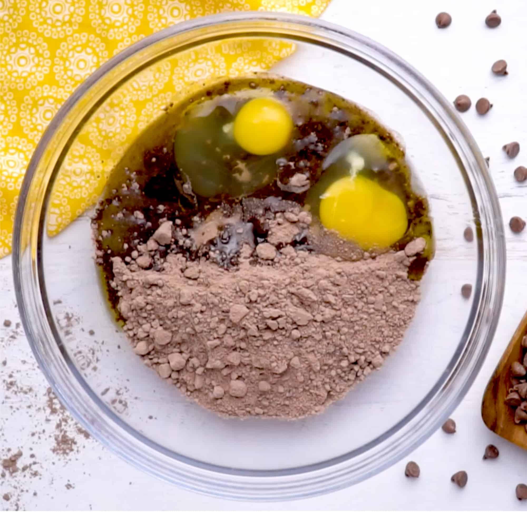 cake mix brownie recipe