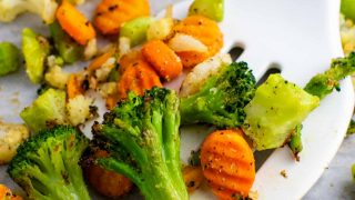 Frozen Roasted Vegetables Recipe
