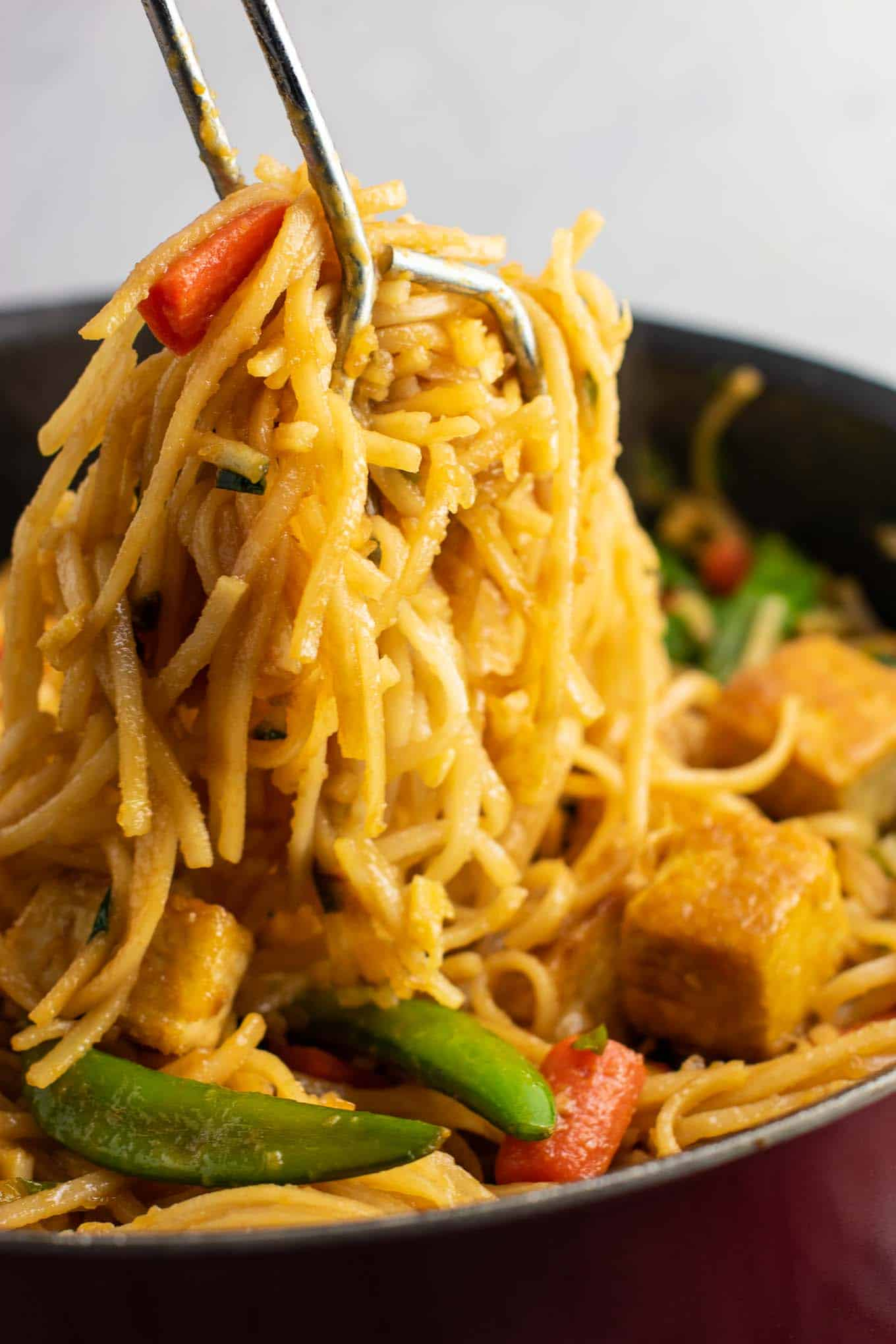 tofu noodle stir fry recipe
