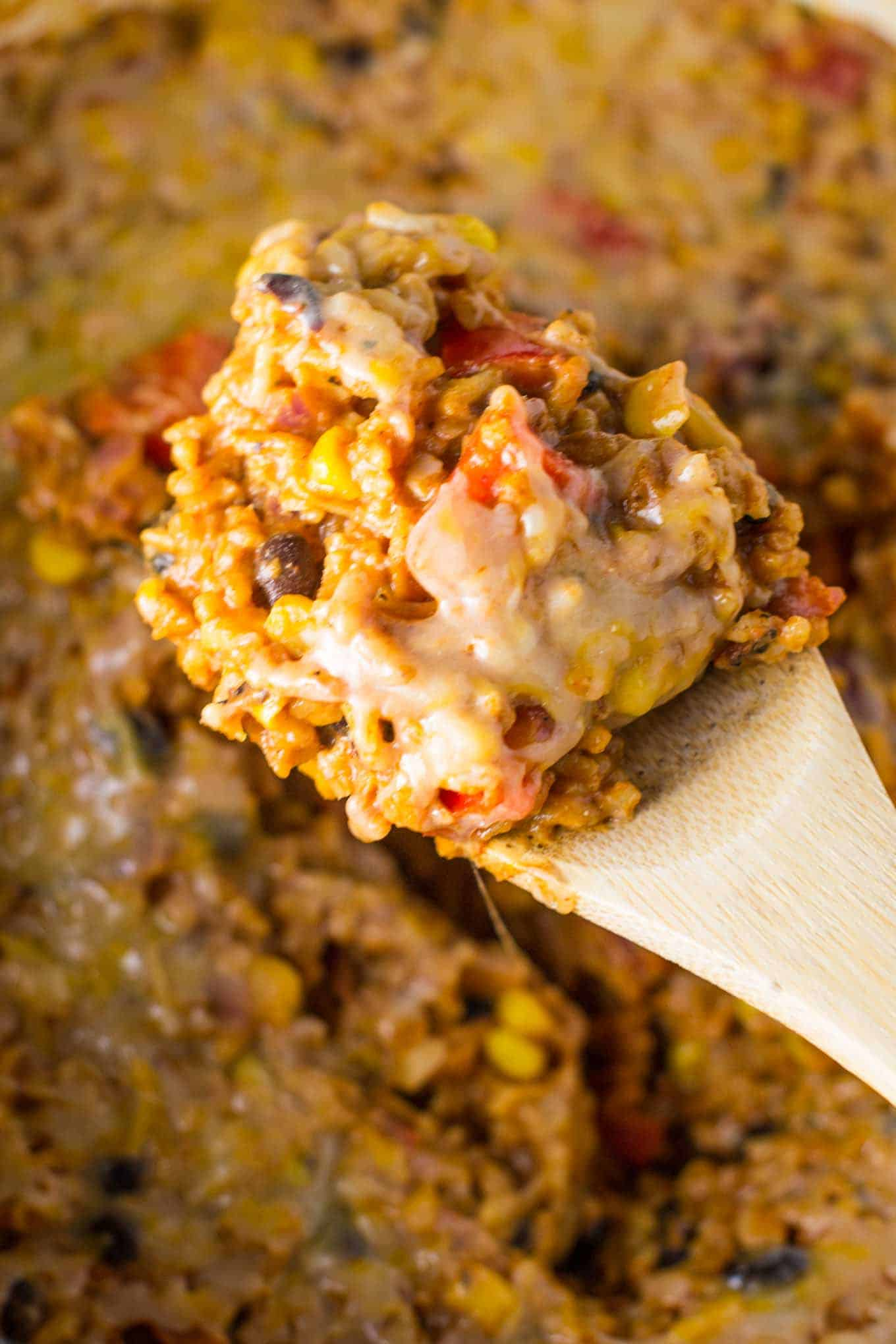meatless mexican rice casserole