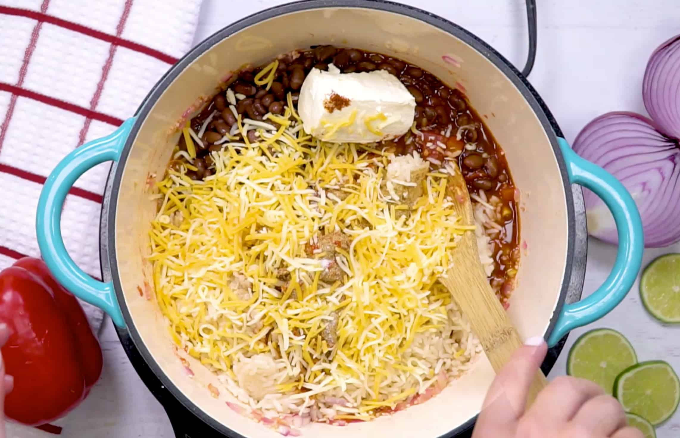 mexican cheese rice casserole