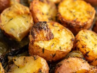 roasted potatoes side dish