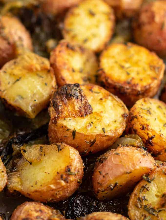 roasted potatoes side dish