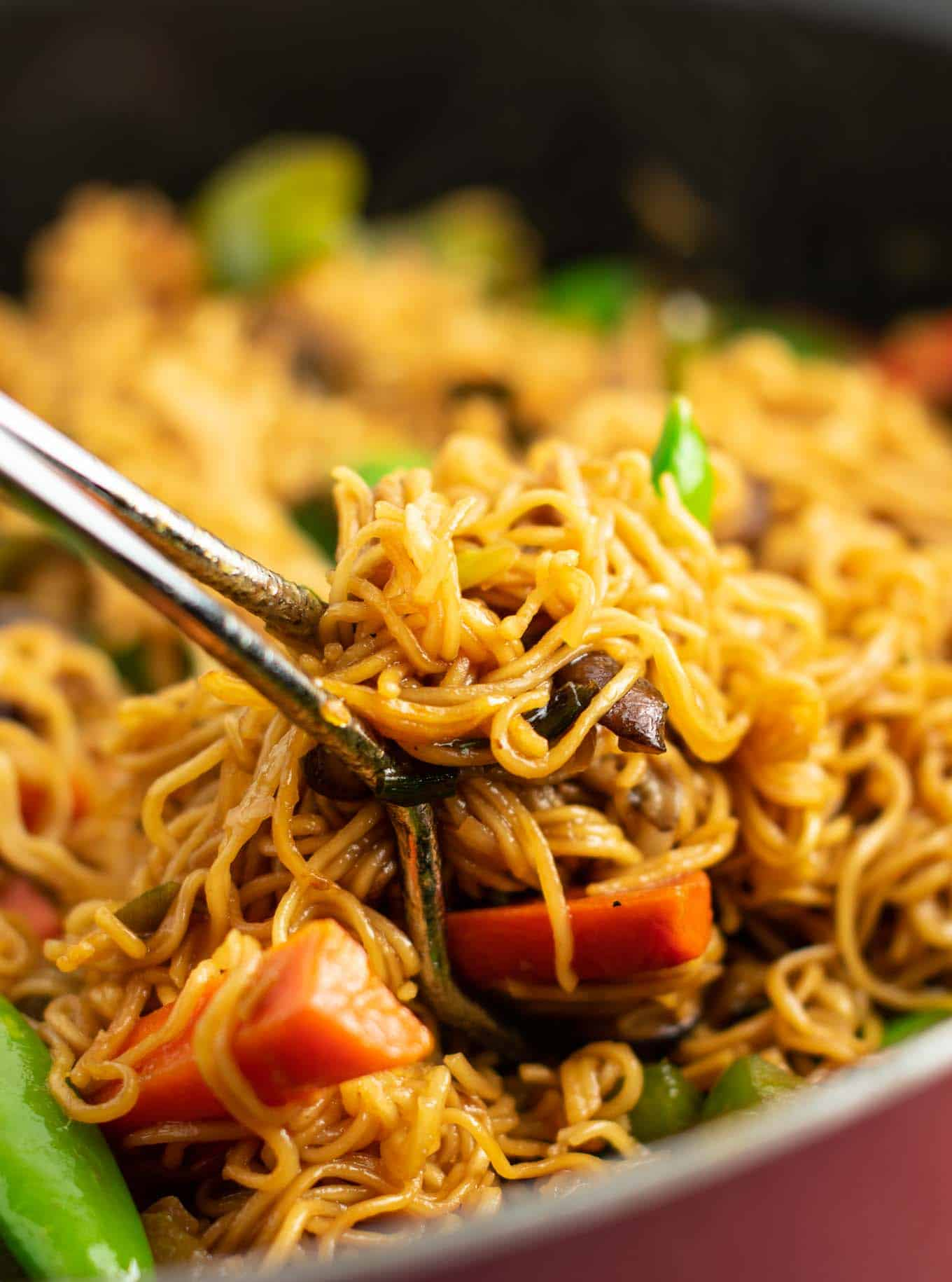 vegetable stir fry noodles recipe