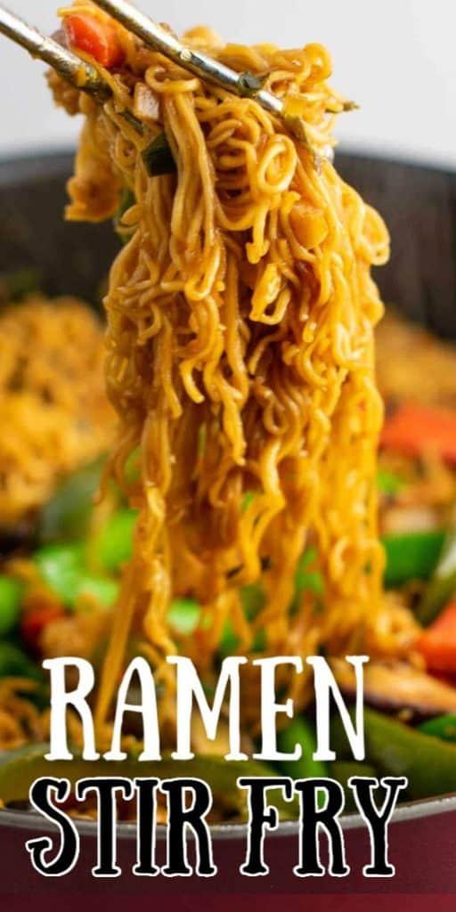 "image with text ""ramen stir fry"""