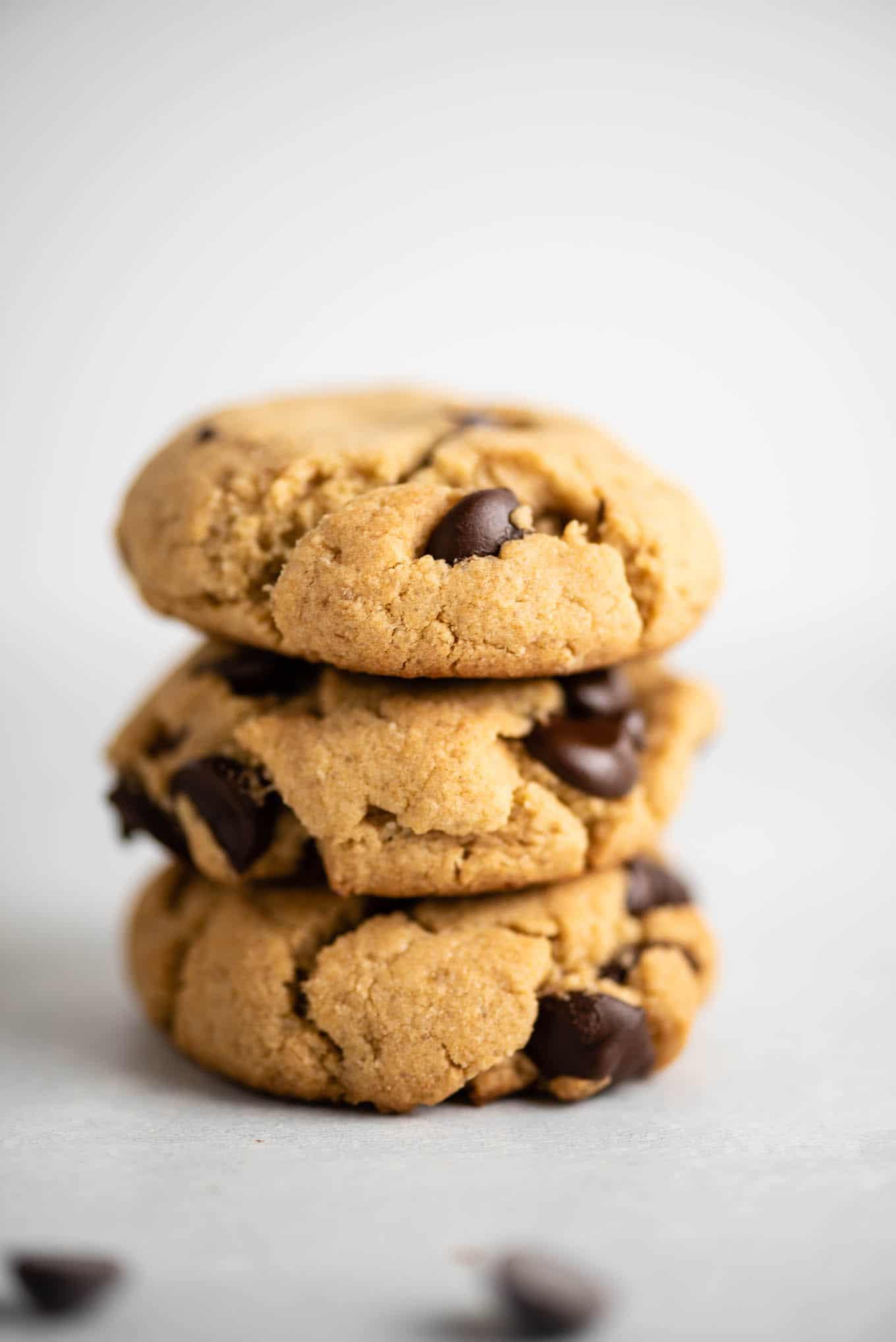 vegan gluten free chocolate chip cookies