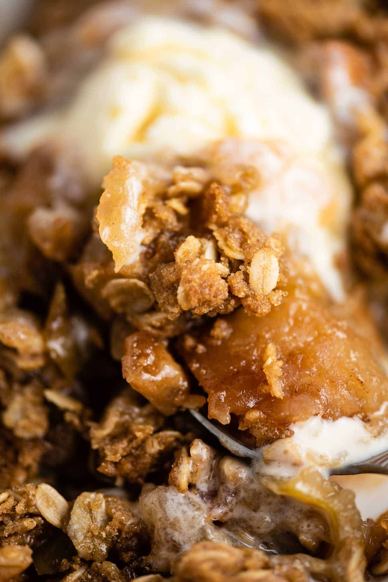gluten free apple crisp topping