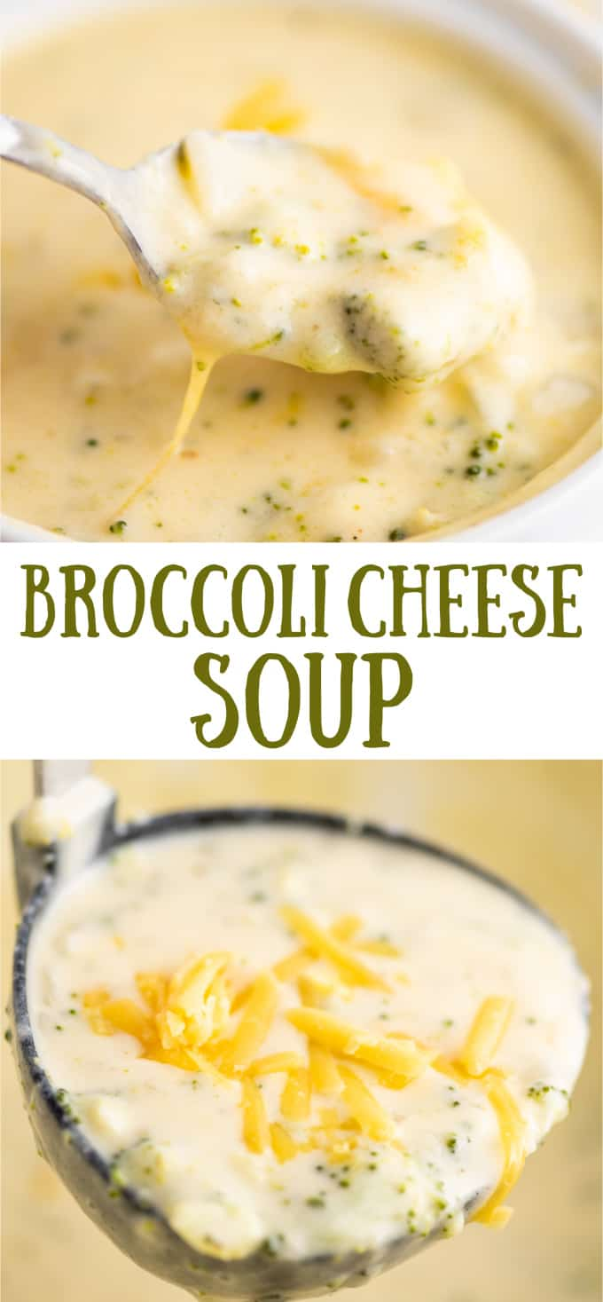 """image with text """"broccoli cheese soup"""""""