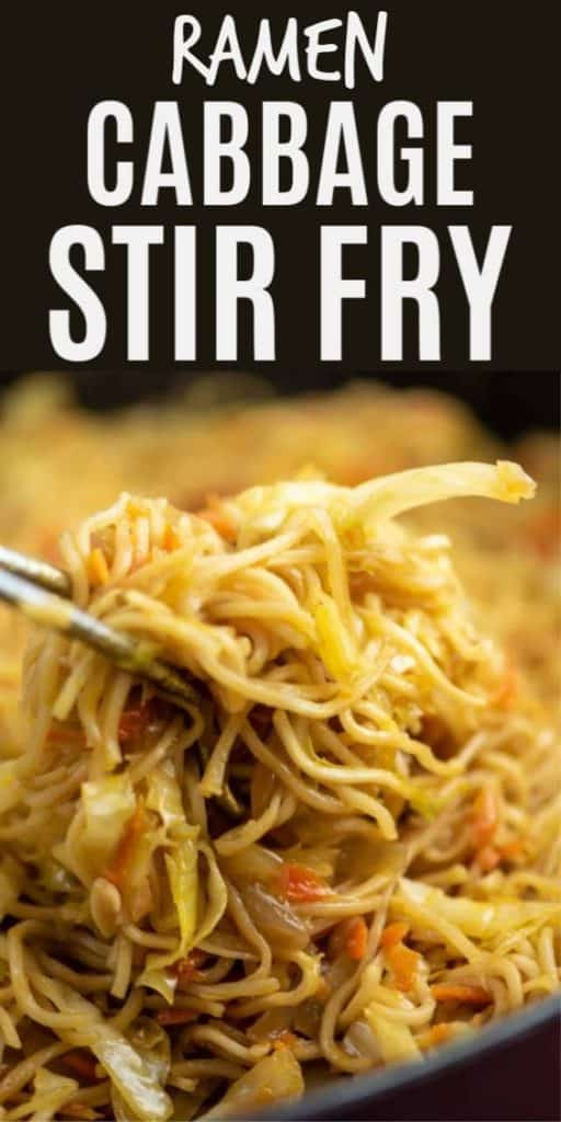"image with text ""cabbage stir fry"""