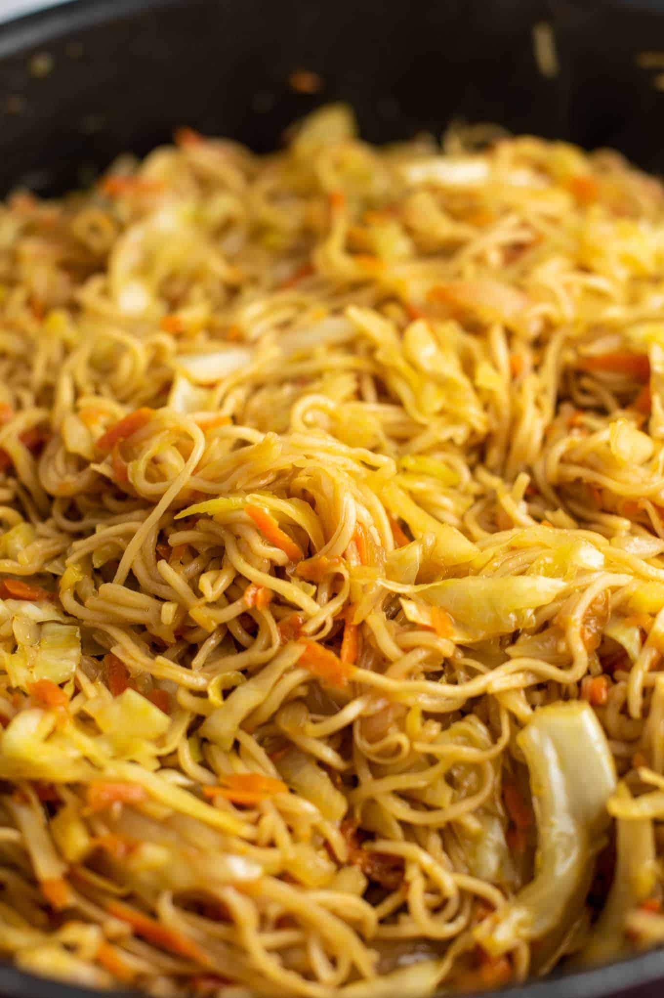 cabbage recipe with ramen noodles