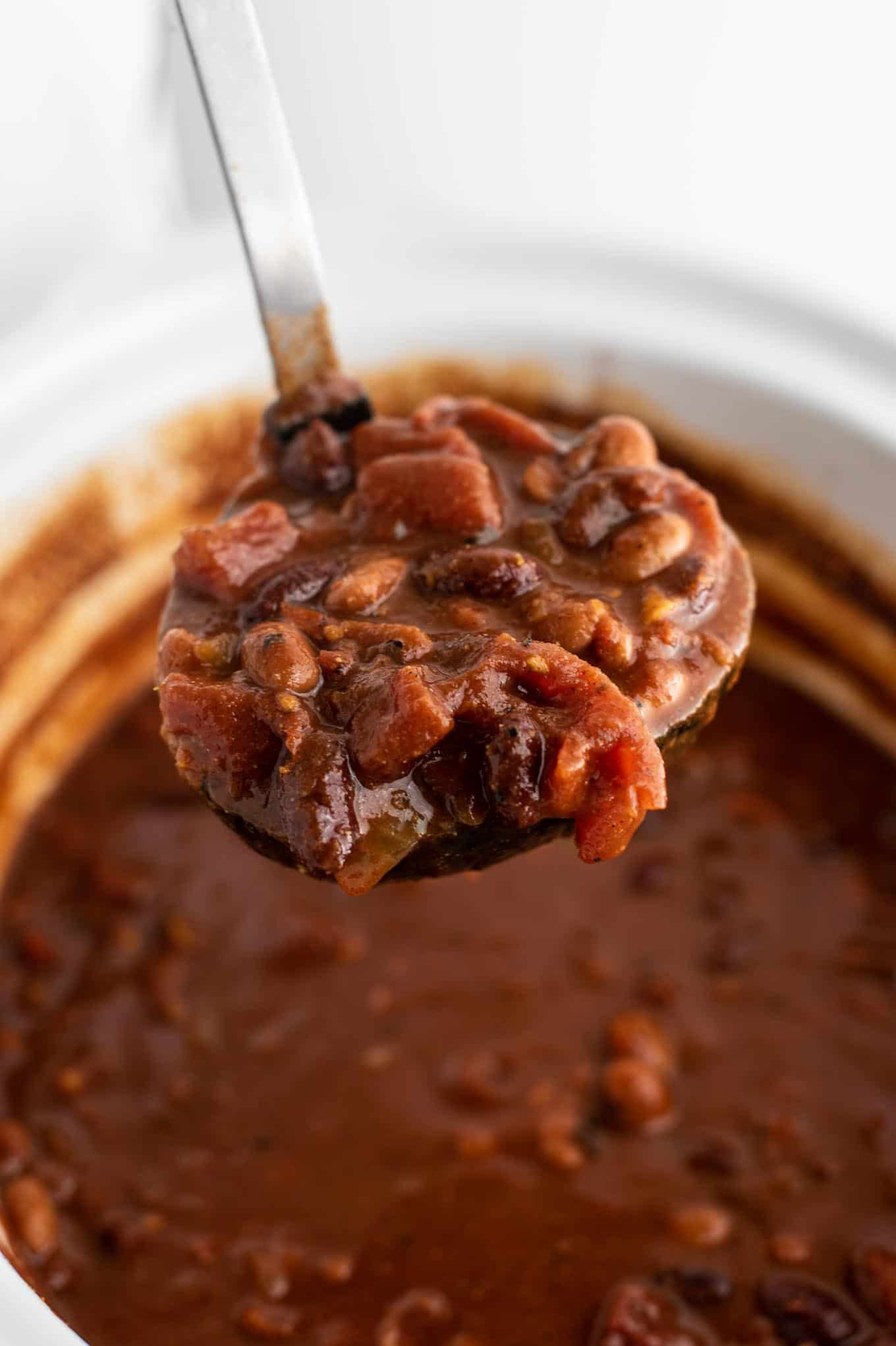 easy meatless chili